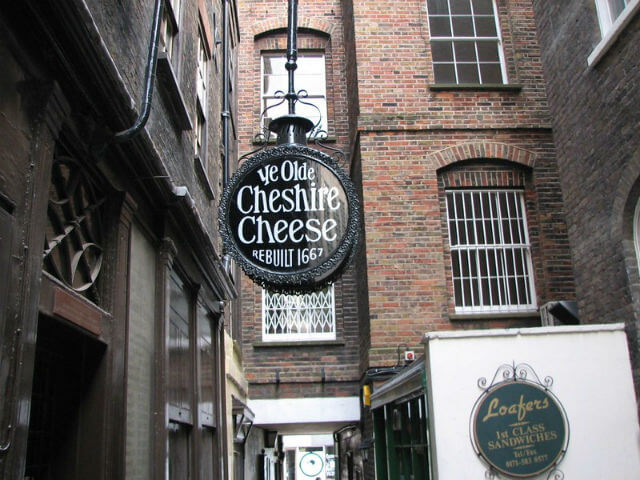 Ye Olde Cheshire Chesse Londres