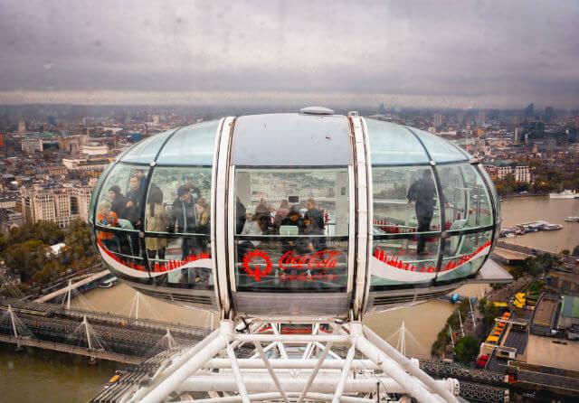 London Eye Cabine