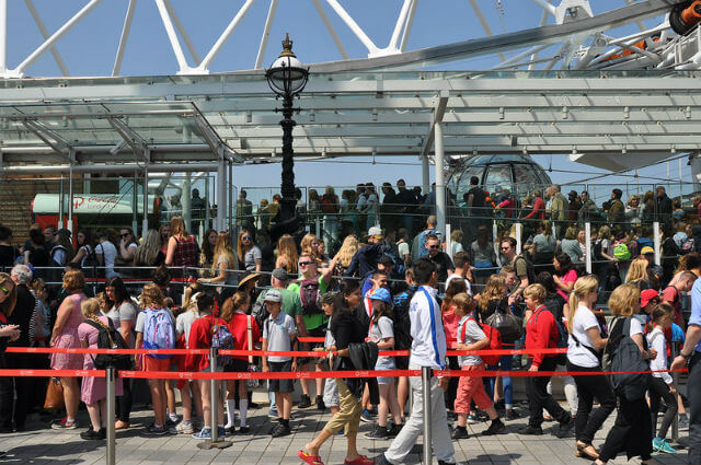 London Eye File Attente Queue