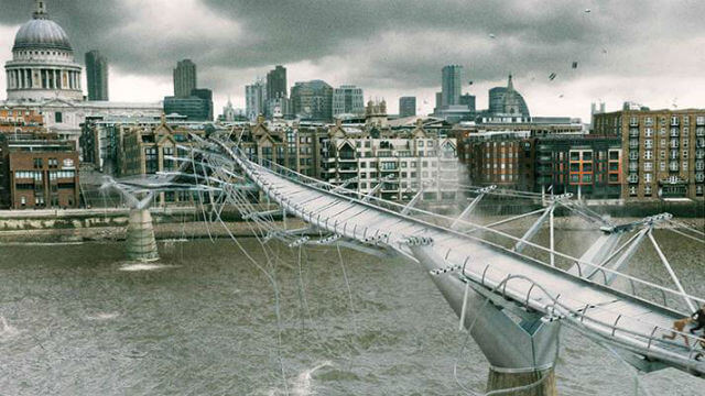 Millenium Bridge Harry Potter