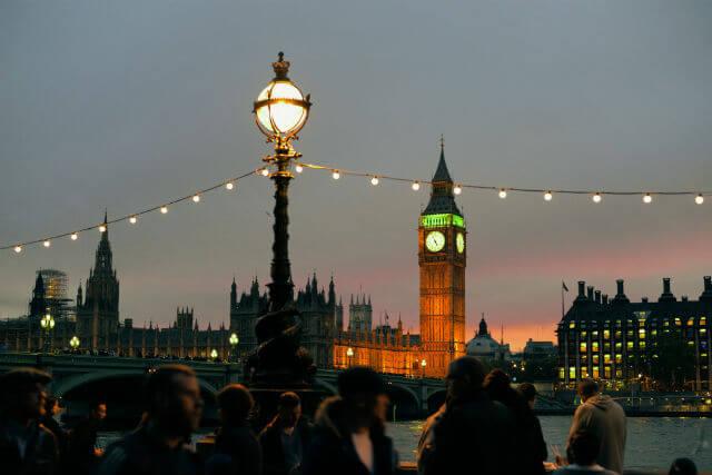 Big Ben illuminé