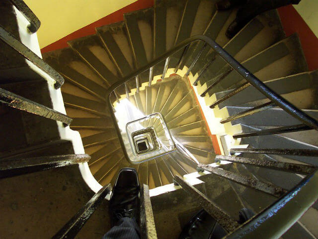 Elizabeth Tower Escaliers