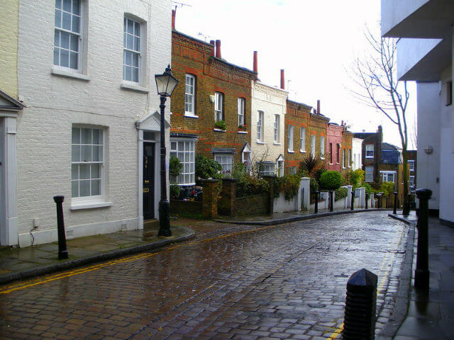 Hampstead Village Londres