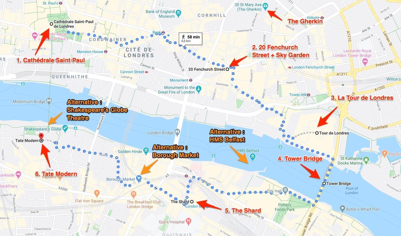 Londres en 4 jours programme jour 2