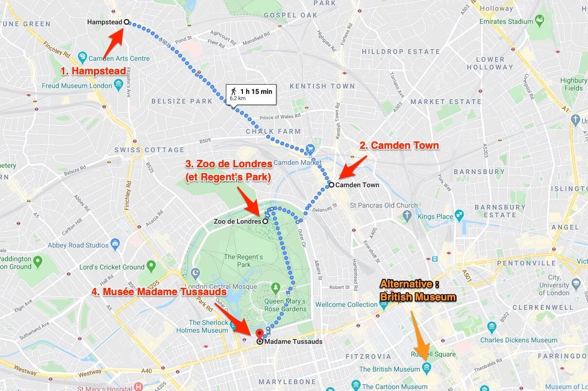Londres en 4 jours programme jour 4