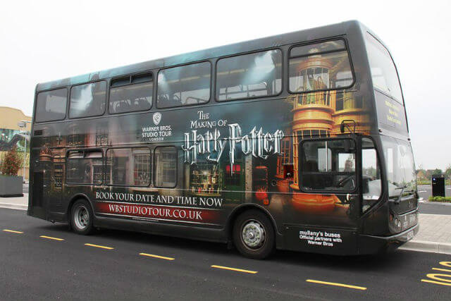 Navette Harry Potter Londres
