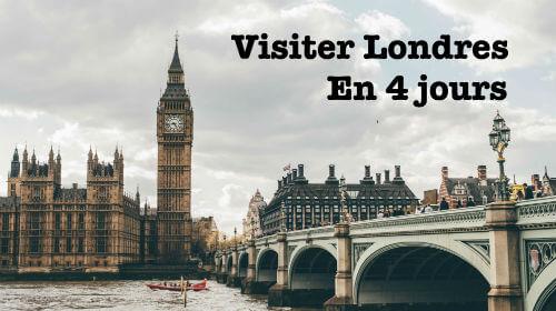 Visiter Londres en 4 jours