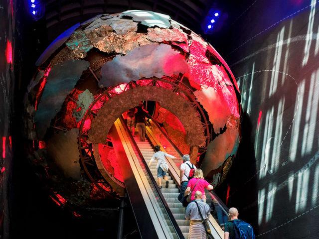 Centre de la terre Musée Histoire Naturelle Londres