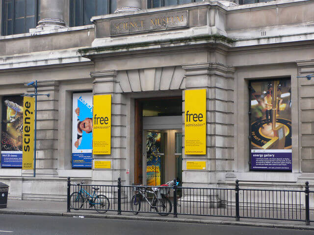 musee sciences londres extérieur