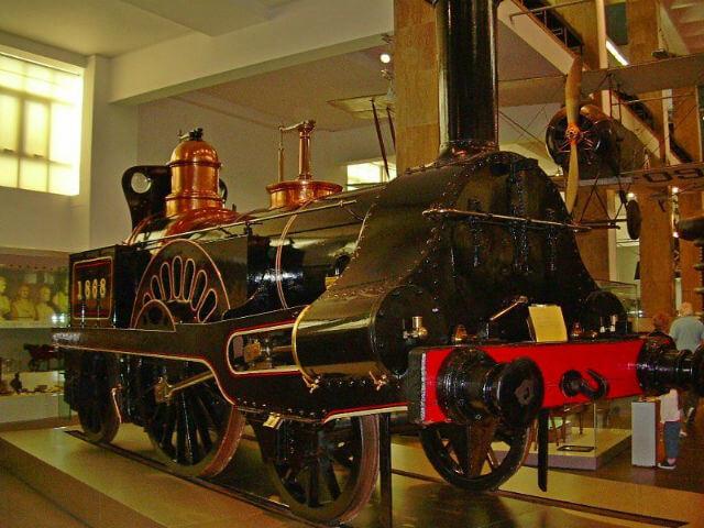 musee sciences londres locomotives