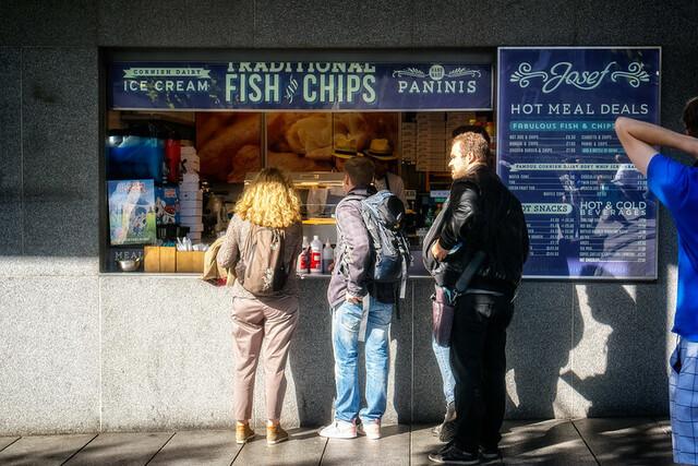 Le Josef Fish and Chips à proximité du Tower Bridge
