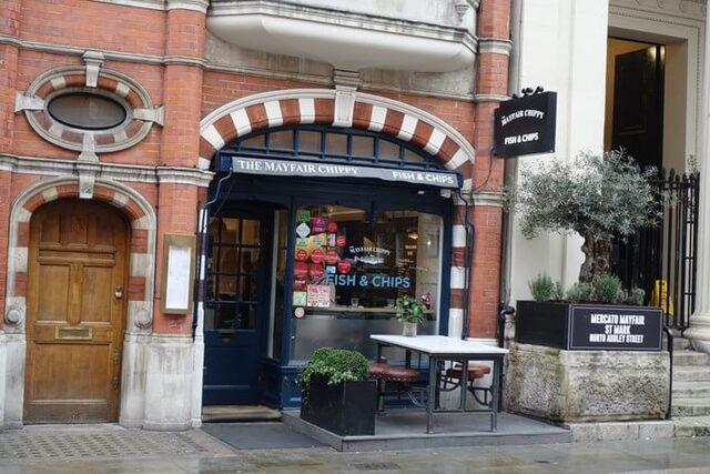Le Mayfair Chippy à Londres