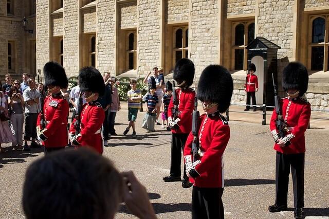 Relève de la Garde Tour de Londres