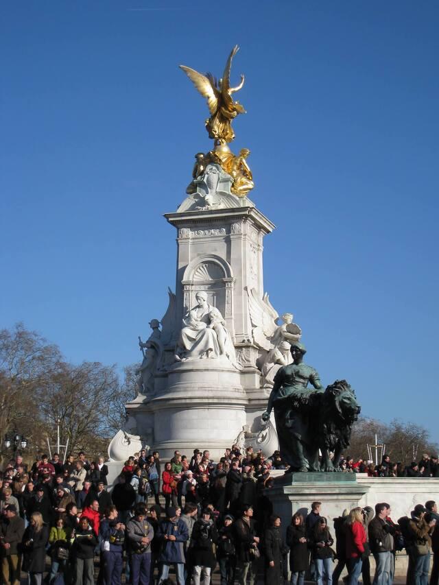 Relève de la garde Victoria Memorial