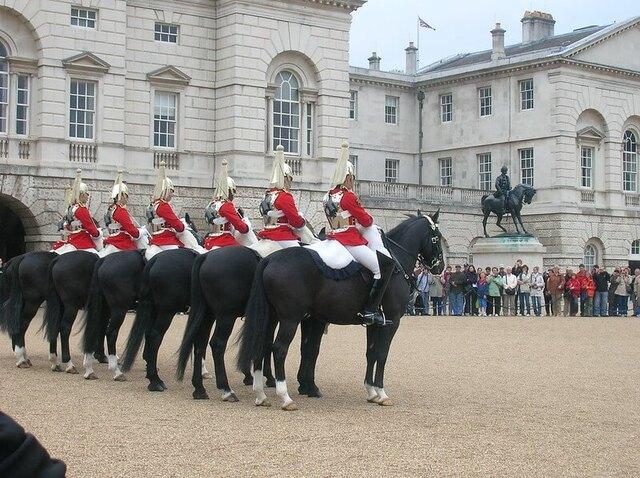 Relève Horse Guards Parade Londres