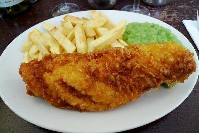 Un bon Fish and Chips au Golden Hind à Londres