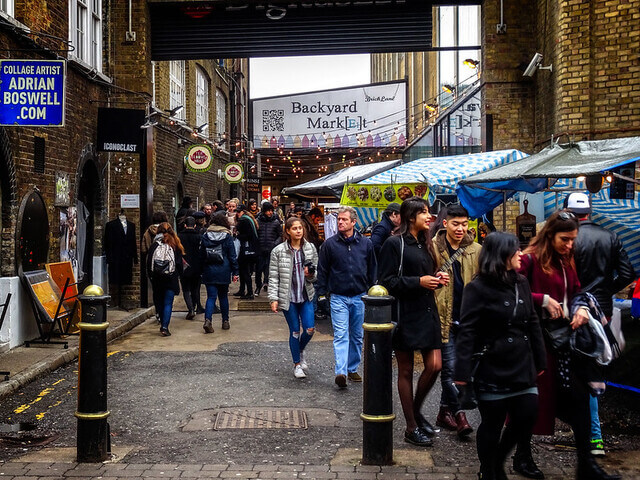 Backyard Market Brick Lane
