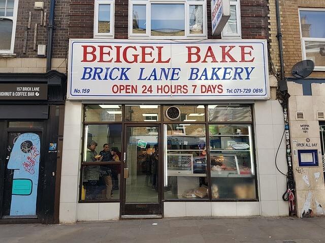 Beigel Bake à Brick Lane