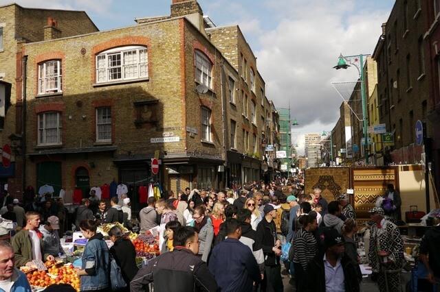 Brick Lane Market Londres