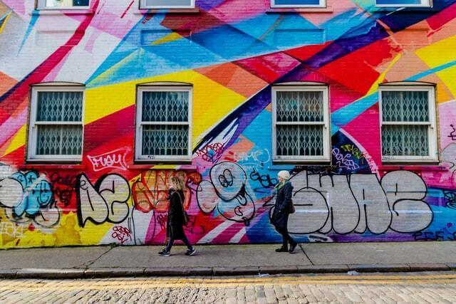 Fresque Brick Lane
