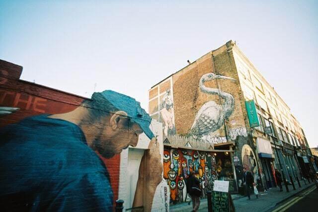 Graffitis Brick Lane