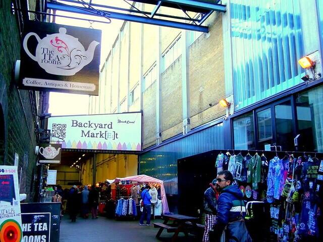 Tea Rooms Market à Brick Lane