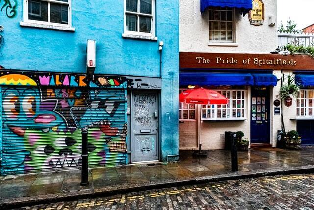 The Pride of Spitalfields à Brick Lane