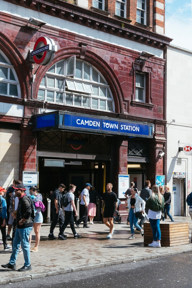 Station de métro Camden Town Londres