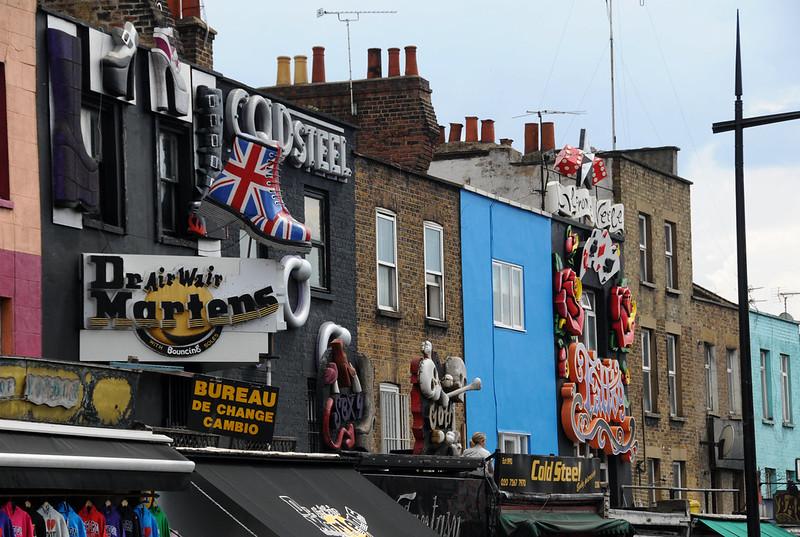 Doc Martens Camden Town Londres