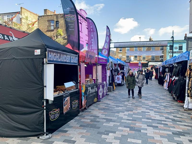 Inverness Street Market Camden