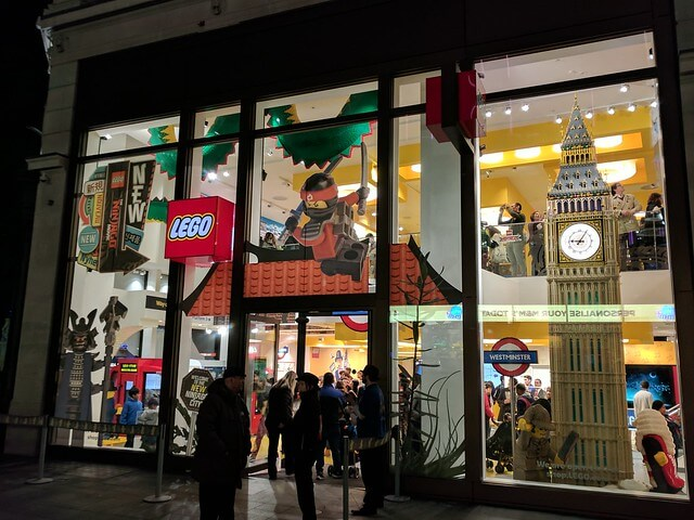 Magasin Lego Londres