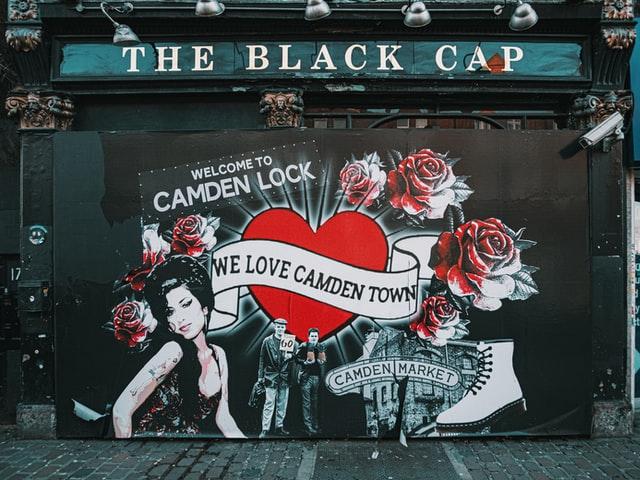 Street Art Amy Winehouse Camden Town