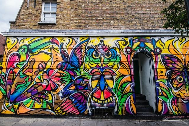 Street Art à Camden Town